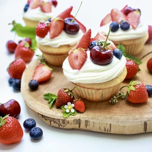 Sommer- Cupcakes