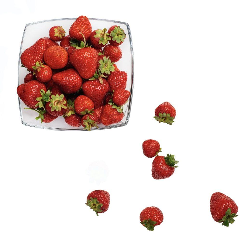 Erdbeerschüssel