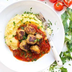 Fleischbällchen_Kartoffelpüree_1
